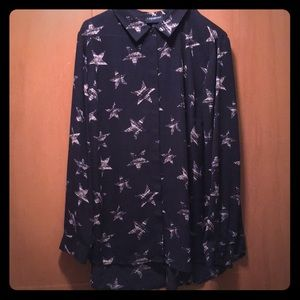 Women's Lane Bryant Long Sleeve Blouse